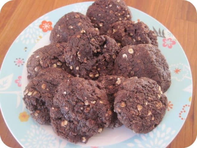 LCHF-kakaocookies