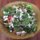græsk salat med kylling