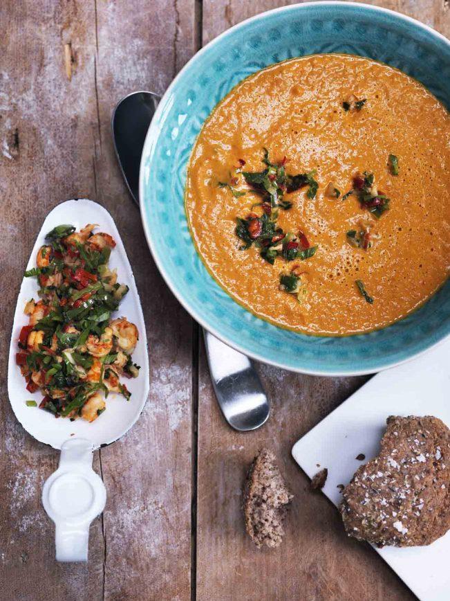 Stærk grøntsagssuppe
