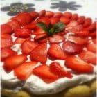 Jordbærkage - glutenfri og laktosefri