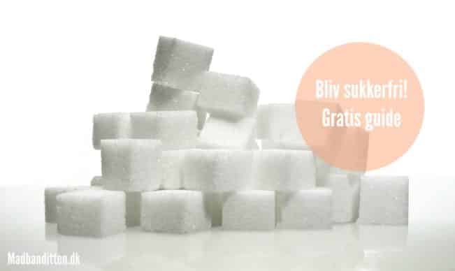 Bliv sukkerfri! Gratis guide --> madbanditten.dk