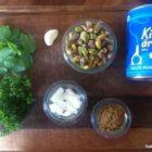 Ingredienser grønne falafler