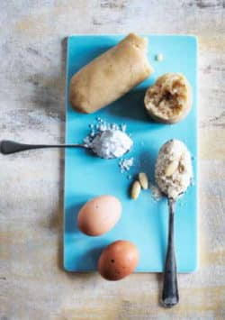 Opskrift på hjemmelavet marcipan uden sukker --> Madbanditten.dk