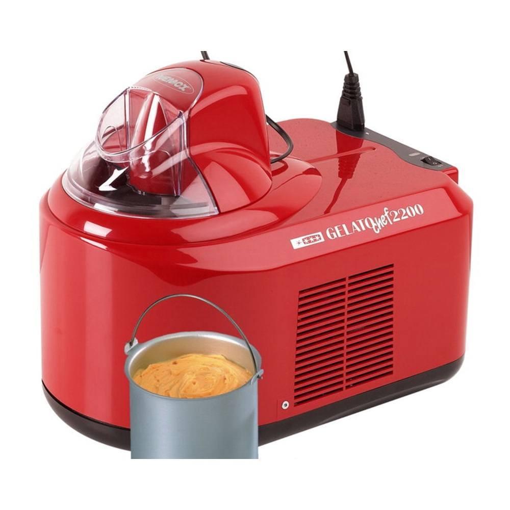 ismaskine med kompressor Nemox