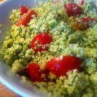 grøn couscoussalat af kål LCHF