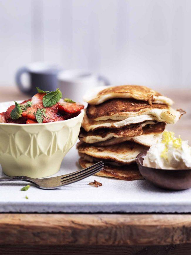 Amerikanske pandekager- glutenfri og LCHF