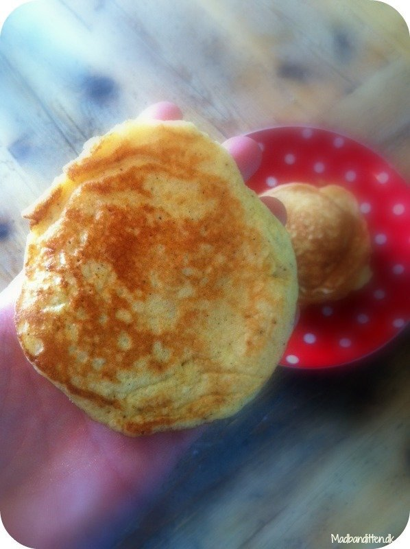 Tykke amerikanske pandekager - LCHF opskrift