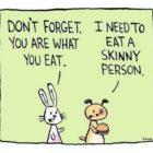 Du bliver hvad du spiser...