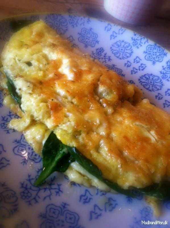 omelet opskrift nem