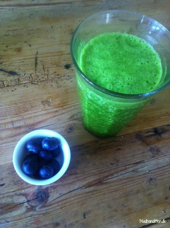 Greenie - grøntsagssmoothie