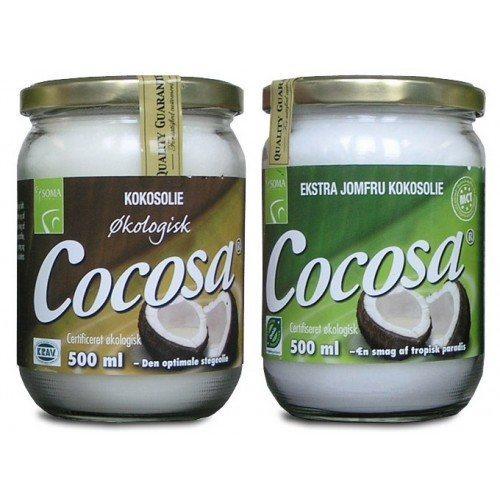 uraffineret kokosolie