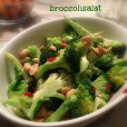 Broccolisalat LCHF