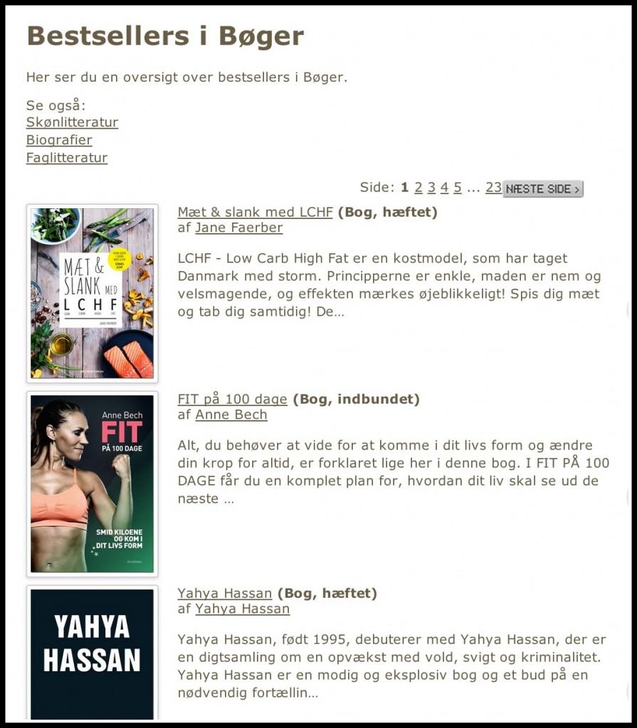 Bestsellerliste