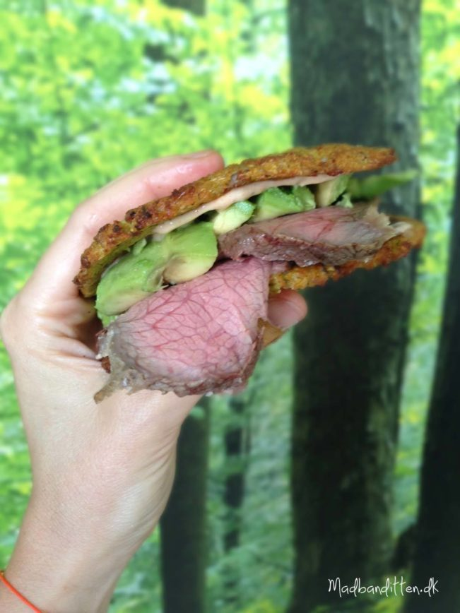 steaksandwich LCHF
