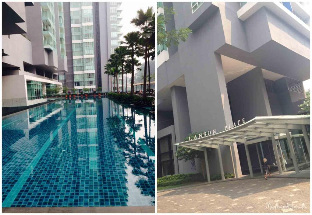 Lanson Apartments, Bukit Ceylon. Kuala Lumpur
