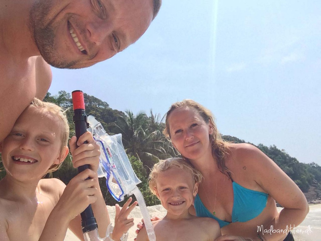 Family selfie, Redang