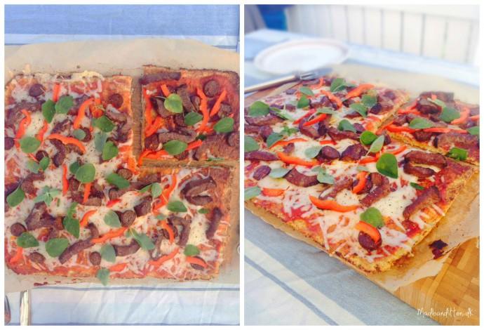 Grøntsagspizza LCHF