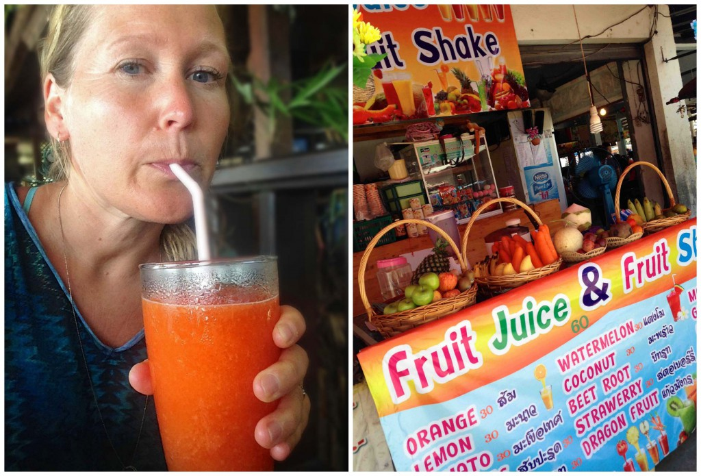Fresh juice, Koh Phangan