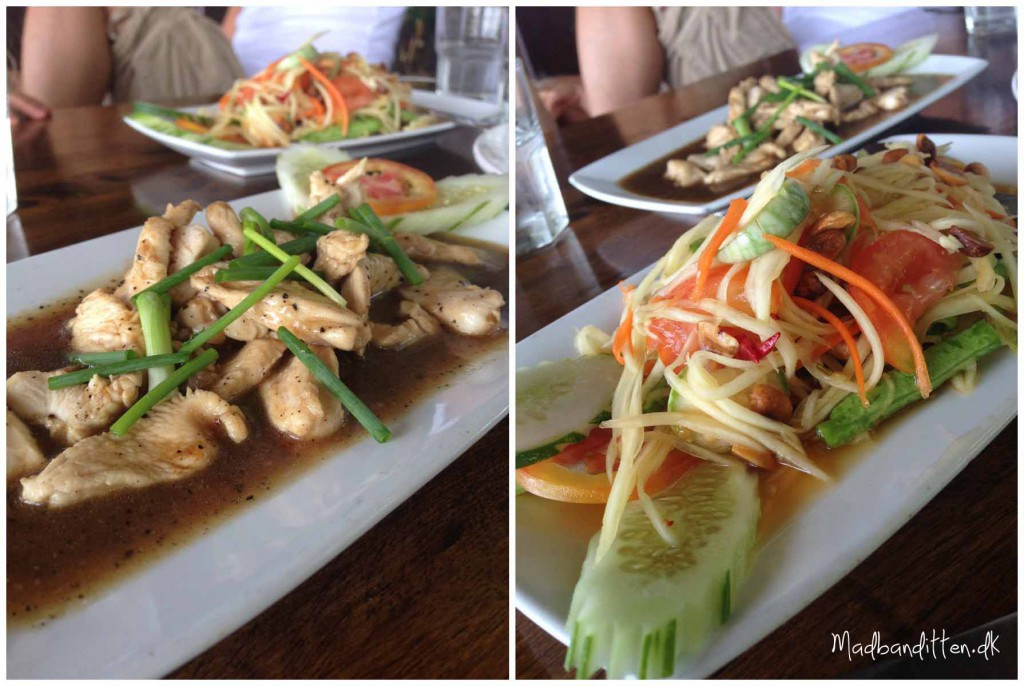 Thai food - Koh Phangan
