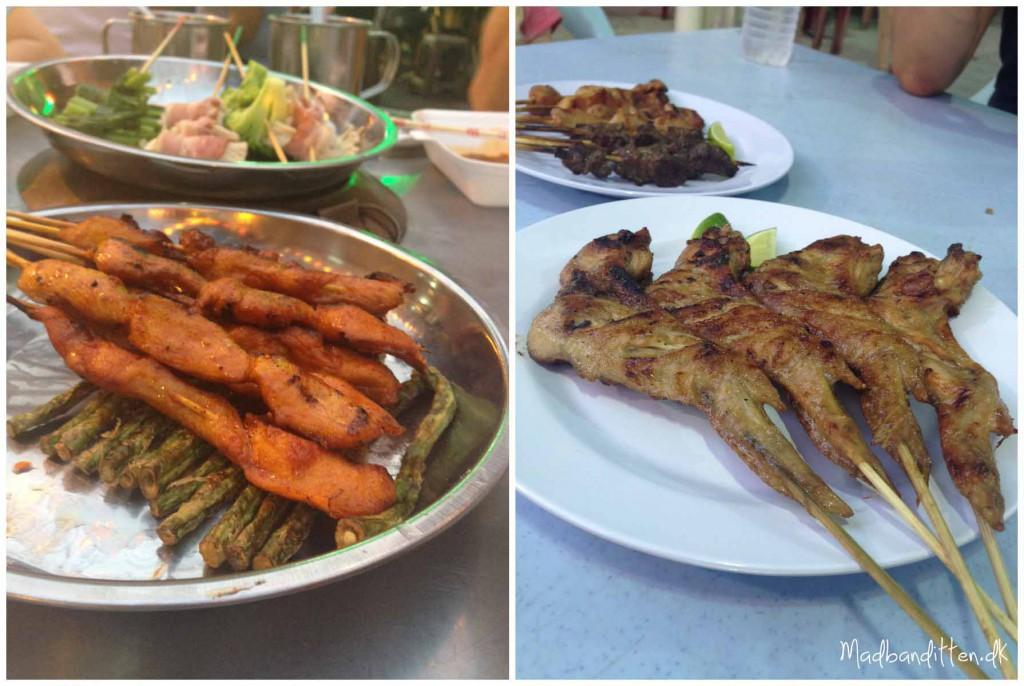 Malaysisk streetfood Kuala Lumpur