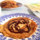 peanutpandekager med chokoladesovs - LCHF