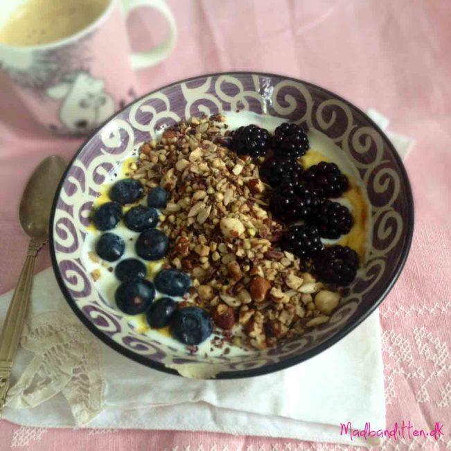 græsk yoghurt med knas - LCHF