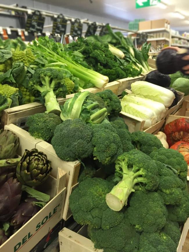 Øko-grøntsager