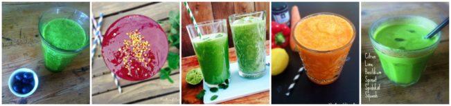 grønne juice og smoothies