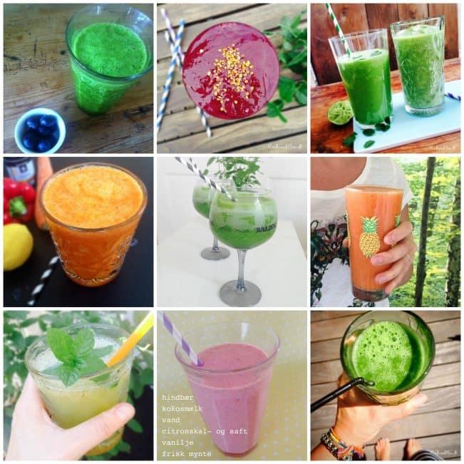 smoothie opskrifter med spinat