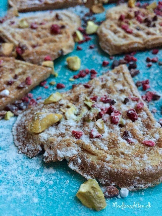 Julevafler - glutenfri og LCHF