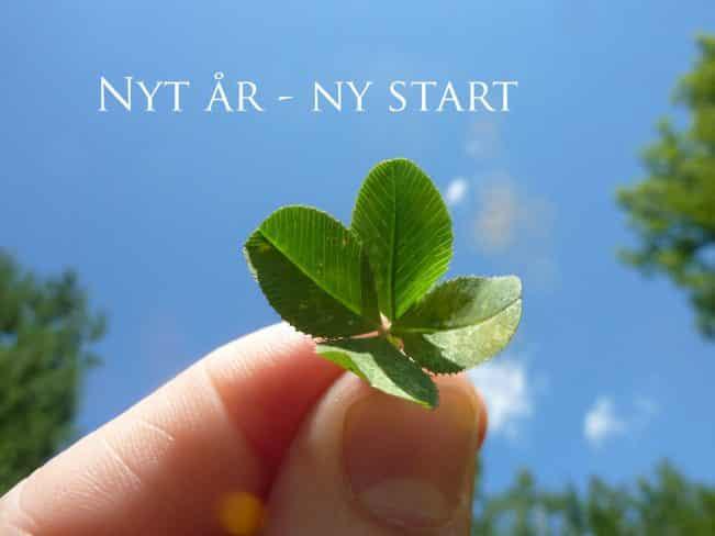 Nyt år - ny start