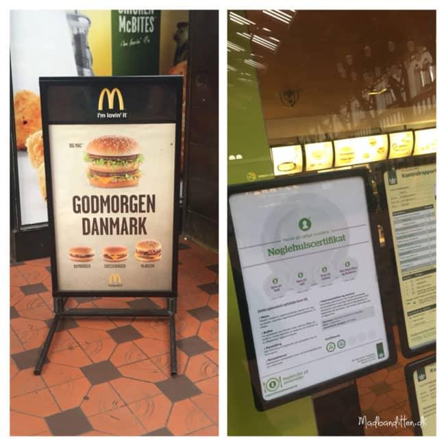 McDonalds - en Nøglehulsmærket restaurant? WTF??