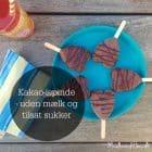 Sunde chokolade-ispinde - uden mælk og sukker --> madbanditten.dk