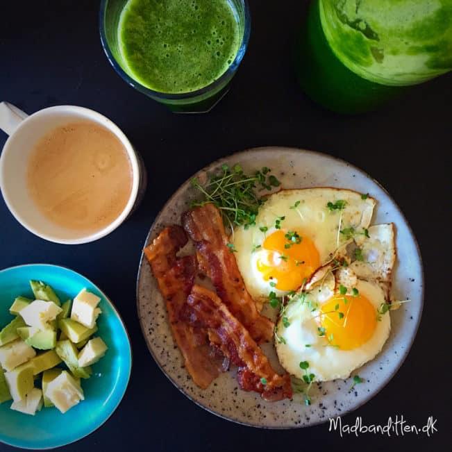Lækker LCHF-morgenmad --> madbanditten.dk