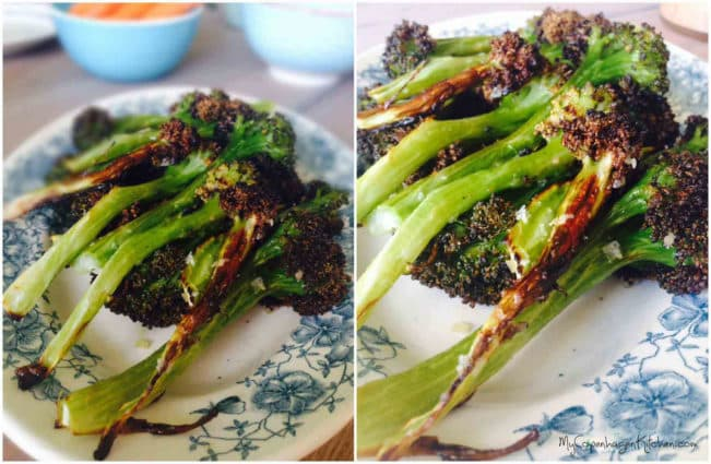 Broccoli fries - healthy and tasty alternative to french fries --> MyCopenhagenKitchen.com