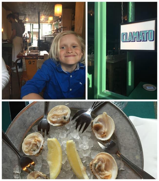 Clamato - lækker, moderne fiskerestaurant i Paris