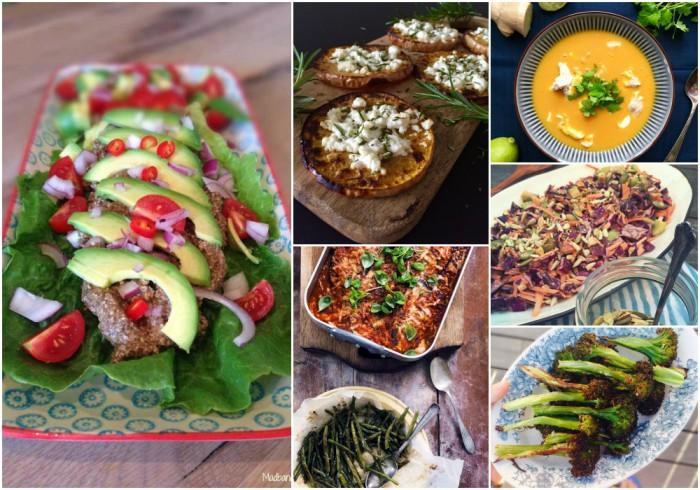 hvad spiser vegetarer i stedet for kød