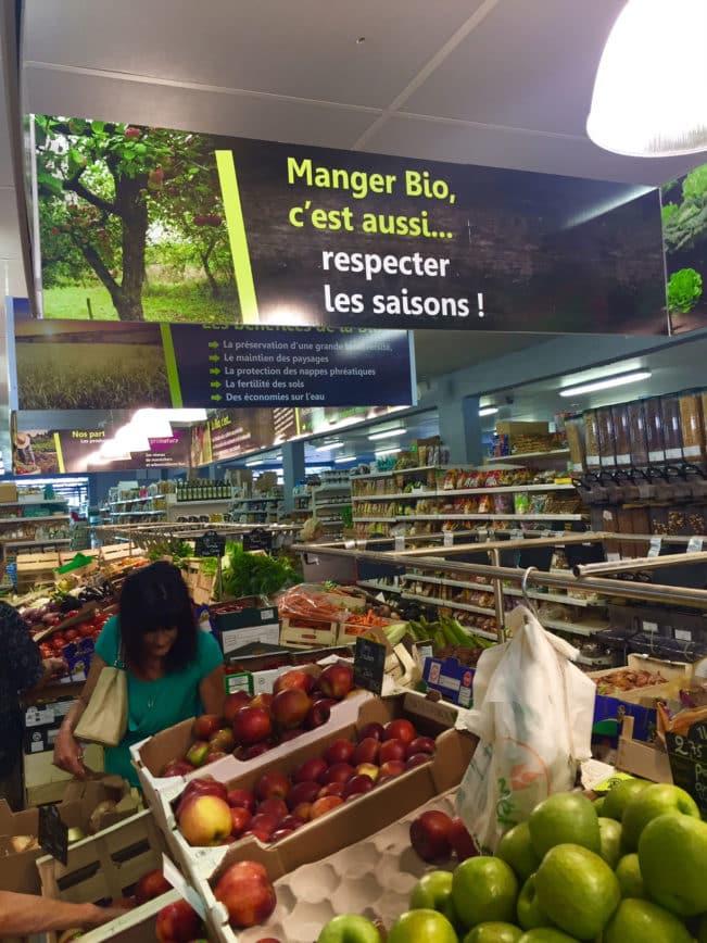 Øko-shopping i sydfrankrig - BioMonde --Madbanditten.dk