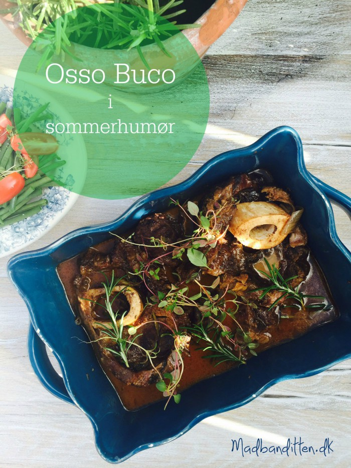 Osso Buco i sommerhumør -en lidt mindre tung variant af den populære simreret! --> Madbanditten.dk