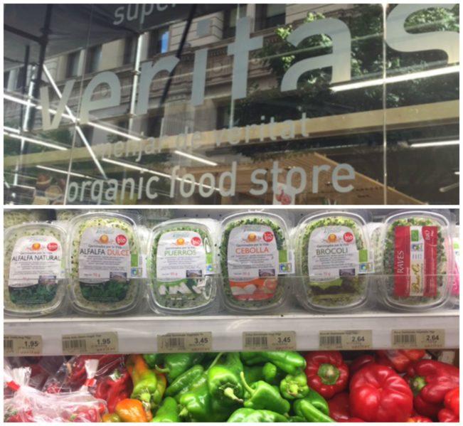 VERITAS - økologisk supermarked i Barcelona --> Madbanditten.dk