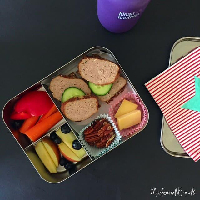 Sund madpakke til skolebarn --> Madbanditten.dk