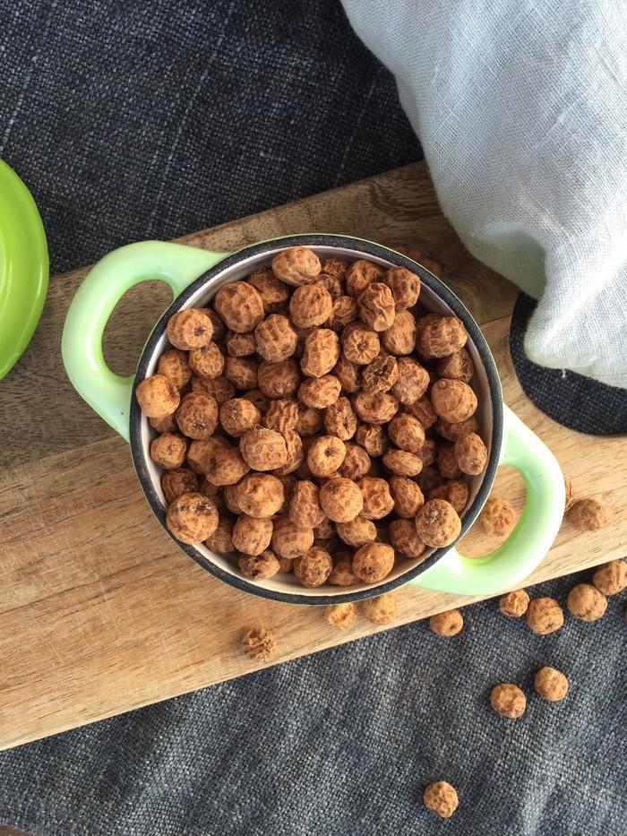 Chufa-opskrifter: Søde chufa med kanel og chufa-mælk
