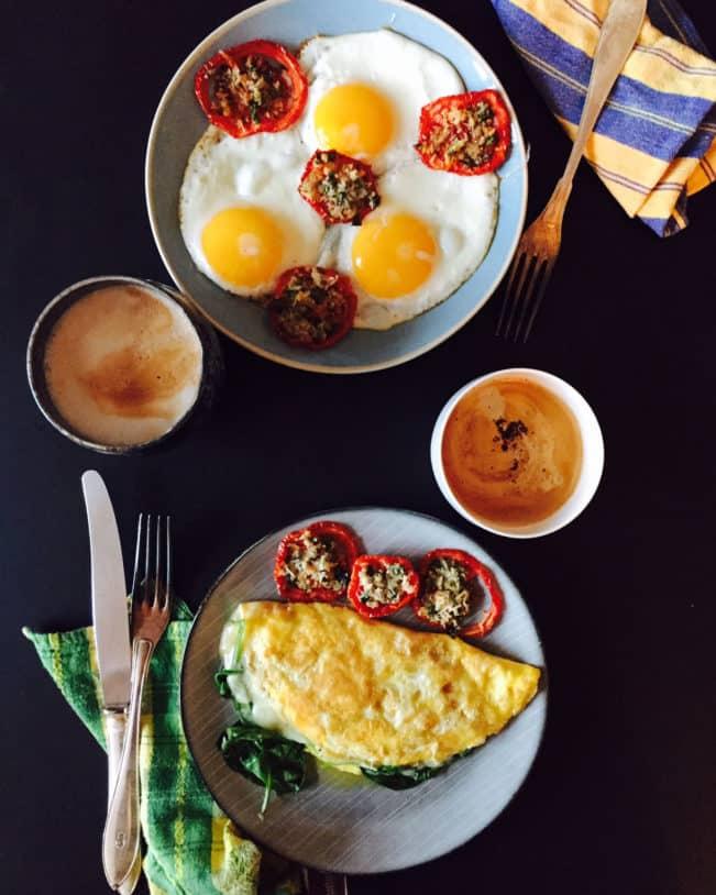 Inspiration til lækker LCHF-morgenmad --> Madbanditten.dk