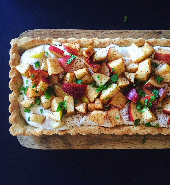 Æbletærte – opskrift på æblekage uden sukker og sødemidler