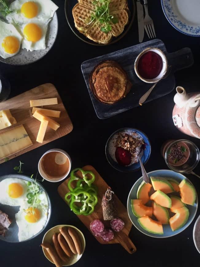 Lækker low carb/LCHF morgenmad --> Madbanditten.dk