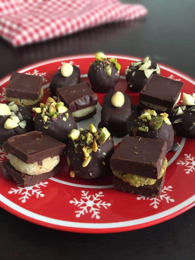 Sugar free and healthyfied Christmas treats. Recipes here: MyCopenhagenKitchen.com