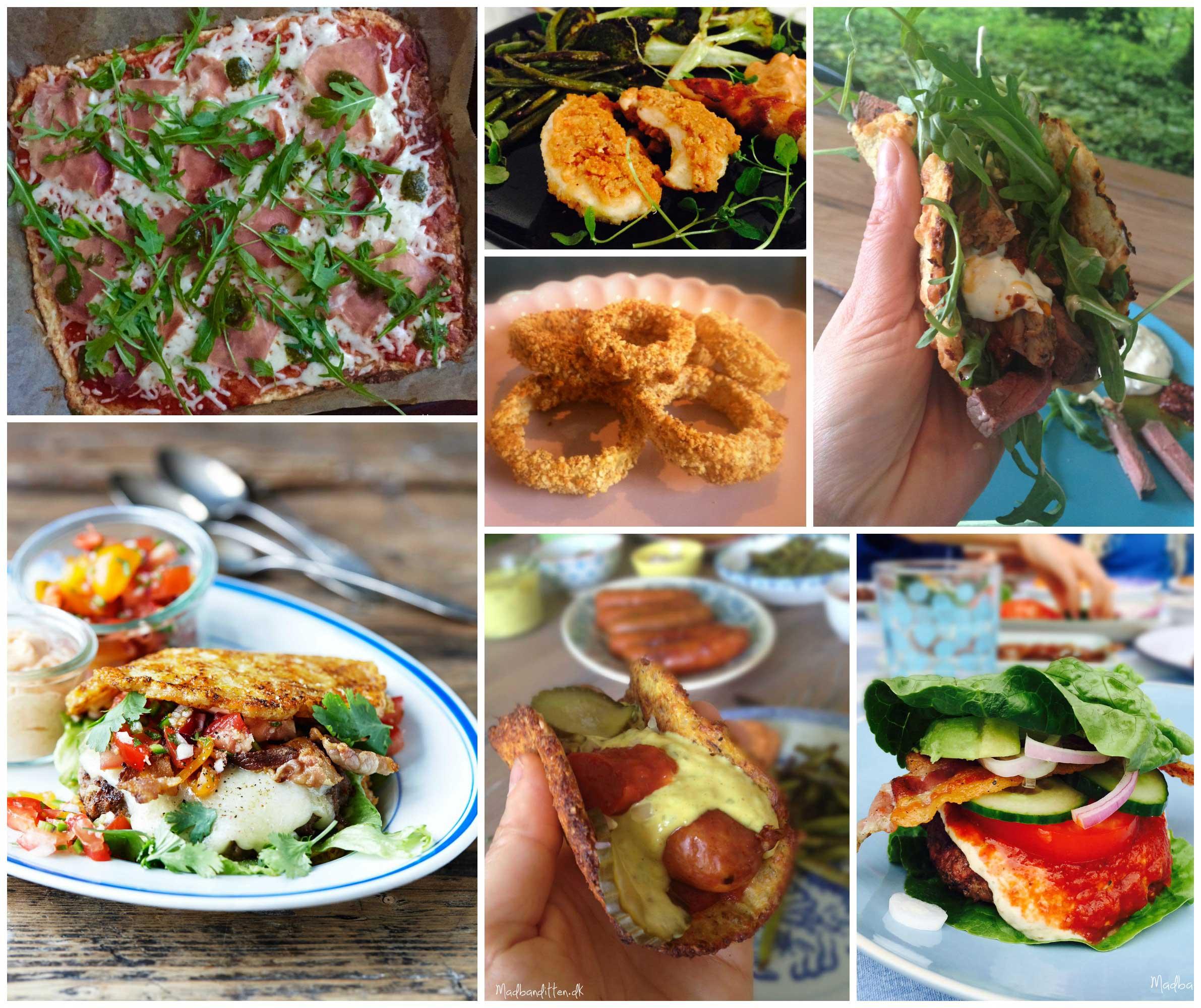 Sundt fastfood - Fastfood favoritter - opskrifter på sund tømmermændsmad