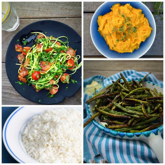 Delicious low carb alternatives to rice, pasta and potato. Find the recipes here: MyCopenhagenKitchen.com