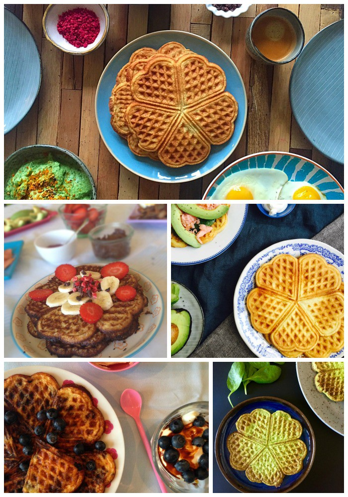 Vafler - mine bedste opskrifter - glutenfrie, sukkerfrie, LCHF og low carb --> Madbanditten.dk