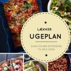 Lækker LCHF madplan/ugeplan med sund og nem aftensmad til hele ugen --> Madbanditten.dk